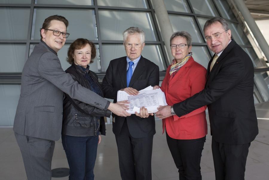 Schwartze, Kassner, Gahr, Steinke, Lehrieder (Copyright Thomas Imo-Photothek)